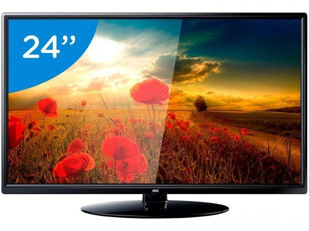 """TV 24"""" Lcd Led AOC LE24M1475 HD"""