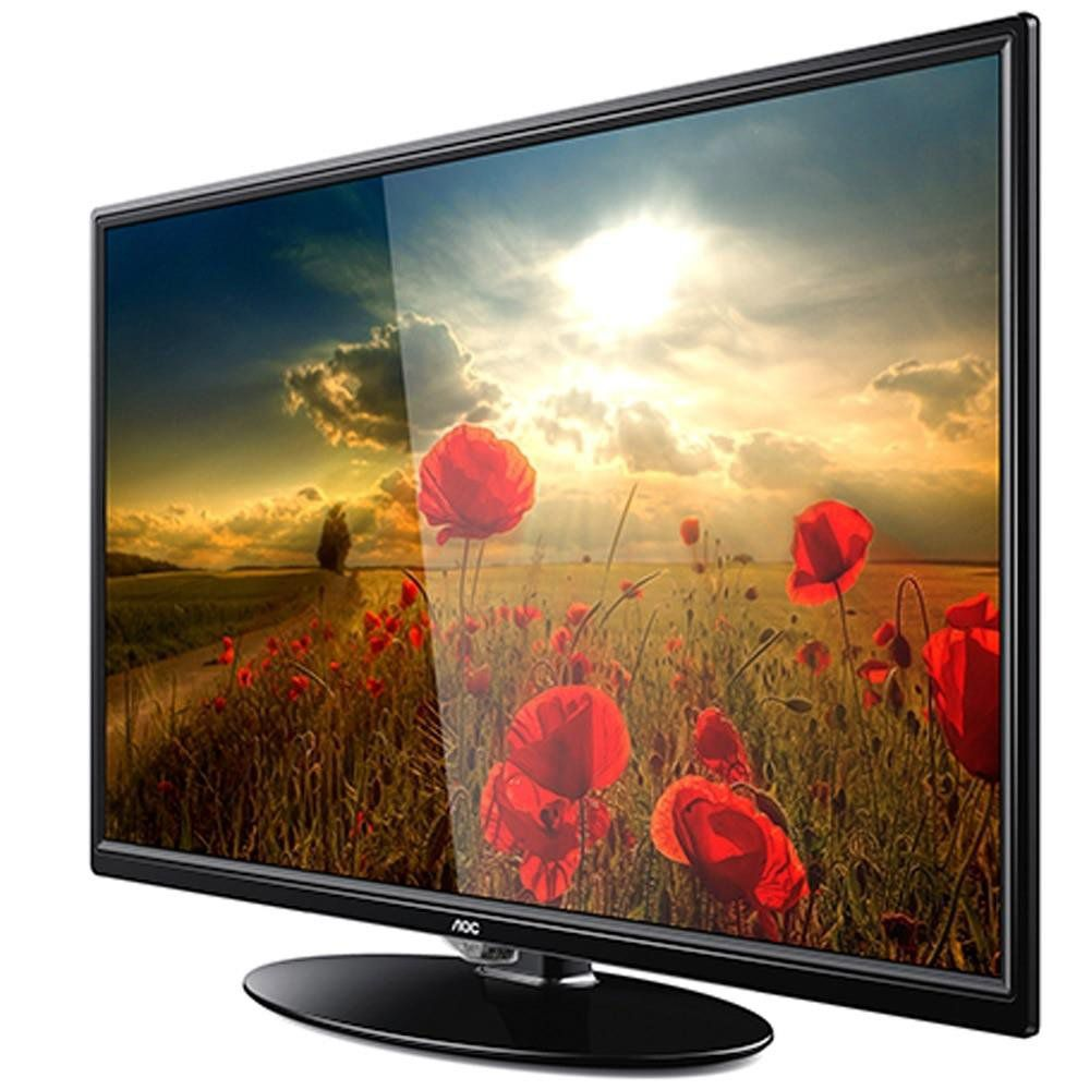 "TV 24"" AOC LE24M1475 HD Conversor Digital Integrado"