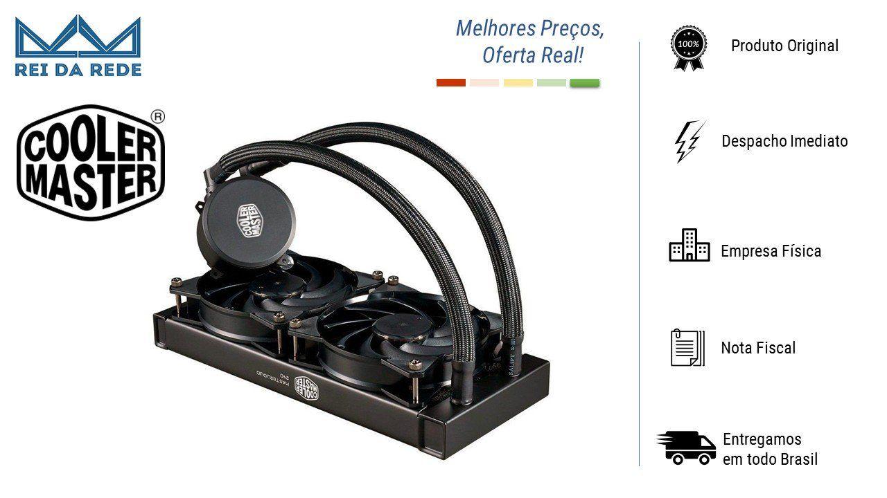 Watercooler Cooler Master Liquid 240 Dual Fan MLX D24M A20PW R1