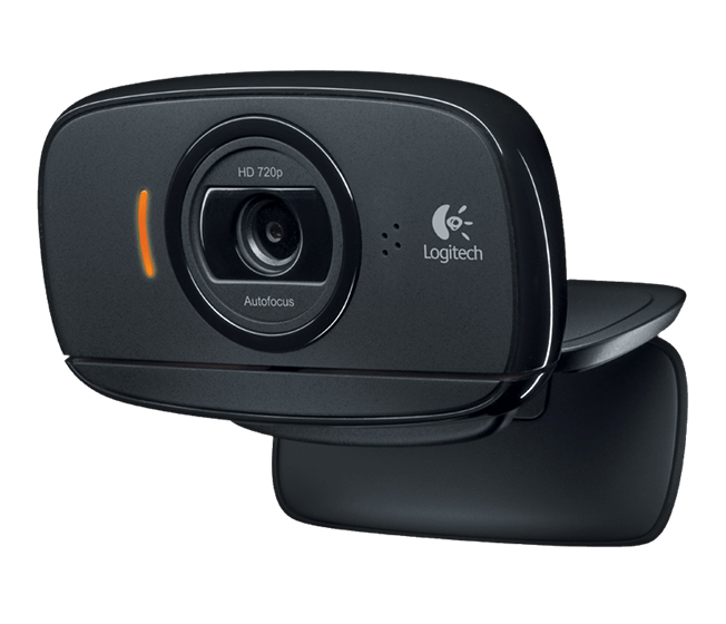 Webcam Logitech C525 Hd 720p Usb Preto