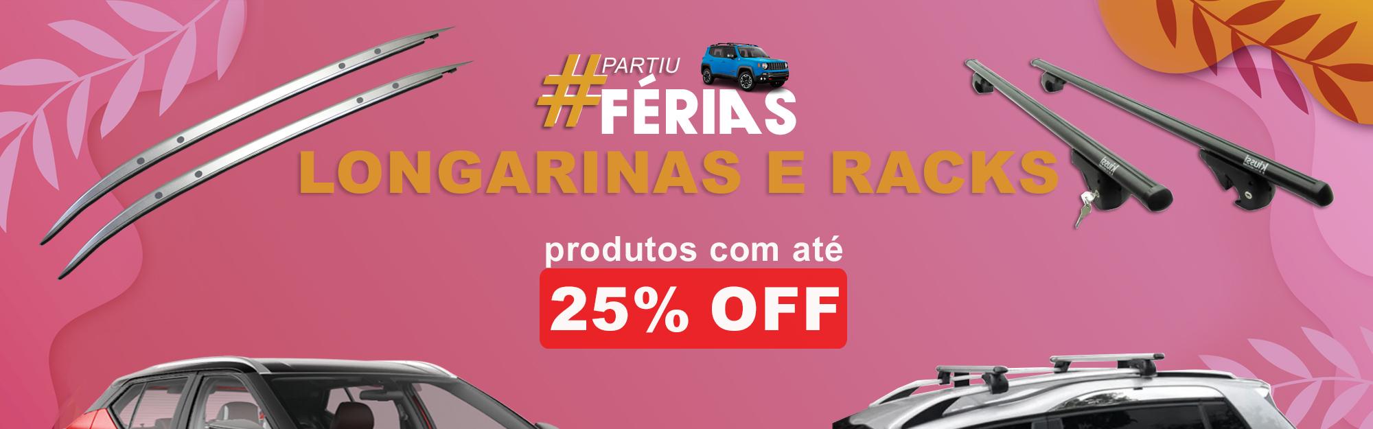 FERIAS - RACKS E LONGARINAS