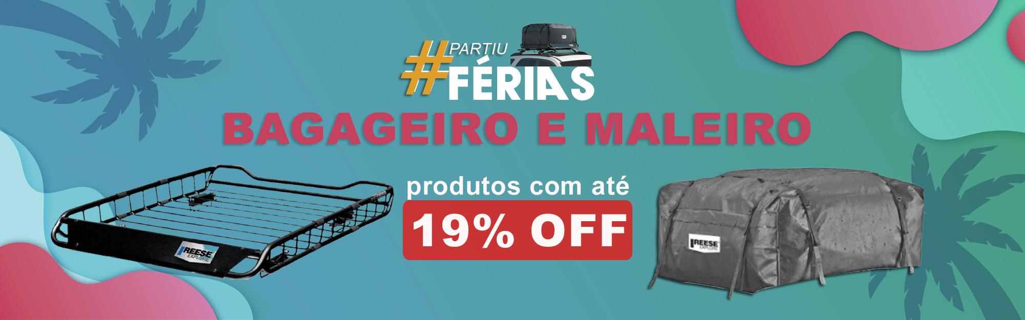 FERIAS - MALEIRO + BAGAGEIRO