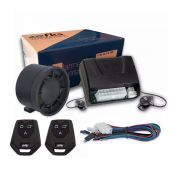 Alarme Automotivo Universal FKS Com Sirene e 2 Controles