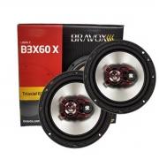 Par Alto Falante Triaxial Bravox B3X60X 6