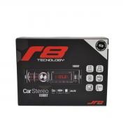 Auto Rádio Automotivo Bluetooth USB FM SD Card 1000BT JR8