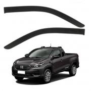 Calha de Chuva Fiat Strada CS 2020 em Diante 2 Portas Defletor TG Poli