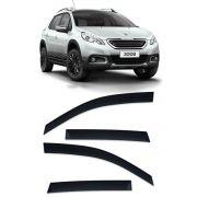 Calha de Chuva Peugeot 2008 2015 em diante Defletor TG Poli