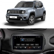 Central Multimídia Jeep Renegade PCD 9 Polegadas Carpad Orbe