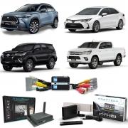 Desbloqueio de Vídeo Com TV Full HD e Espelhamento para Corolla Hilux SW4 Corolla Cross Faaftech