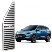 Descanso de Pé Chevrolet Tracker até 2019 Aço Inox Escovado