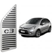 Descanso de Pé Citroën C3 Aço Inox Escovado