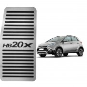 Descanso de Pé Hyundai HB20X Aço Inox Escovado