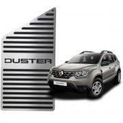 Descanso de Pé Renault Duster Aço Inox Escovado