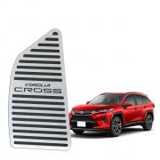 Descanso de Pé Toyota Corolla Cross Aço Inox Escovado