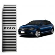 Descanso de Pé Volkswagen Polo Aço Inox Escovado