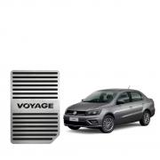 Descanso de Pé Volkswagen Voyage Aço Inox Escovado