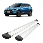 Estribo Plataforma Aluminio Anodizado Polido Chevrolet Tracker 2020 em diante T9120A
