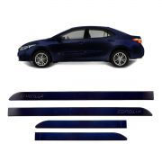 Friso Lateral Corolla Azul Cosmos 2015 a 2018 Mod Original