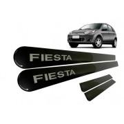 Friso Lateral Ford Fiesta Rocam Cinza Camburi Personalizado Kitoplastic