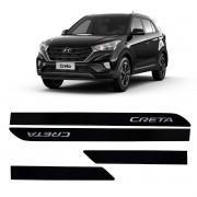 Friso Lateral Personalizado Hyundai Creta Preto