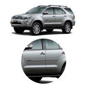 Jogo Friso Lateral Toyota SW4 2005 a 2015 Transparente Adesivo
