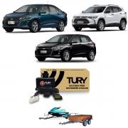Kit Elétrico para Engate Chevrolet Onix Tracker 2020 em diante Tury CONNECT1BG
