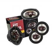 Alto Falante Kit Fácil Bravox Triaxial 6
