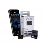 Chip Acelerador Eletrônico com Bluetooth Pedal Delay Tury Fast FAST2.0V