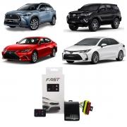 Módulo de Aceleração Tury para Toyota Corolla Cross FAST 2.0 A