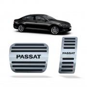 Pedaleira para Passat 2016 em diante Automático em Aço Inox