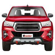 Protetor Frontal Overbumper Toyota Hilux 2019 Red Defender