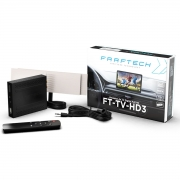 Receptor de TV Digital Automotivo Full HD Sintonizador Faaftech