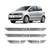 Soleira de Porta Volkswagen Fox em Aço Inox Escovado