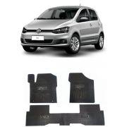 Tapete de Borracha PVC Reforçado Volkswagen Fox 2015 em diante Tapeplass
