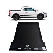 Tapete de Caçamba Puxa Fácil Volkswagen Saveiro Cabine Estendida 2009 á 2020 PF-0202