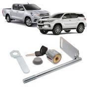 Trava Antifurto para Estepe Toyota Hilux e SW4 2016 2017
