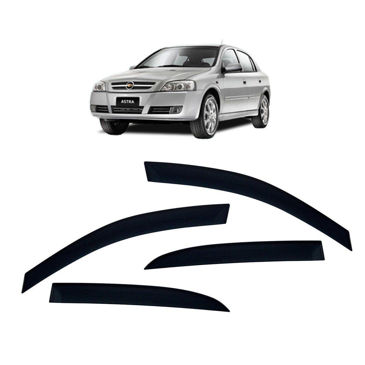 Calha De Chuva Astra Hatch E Sedan Defletor TG Poli