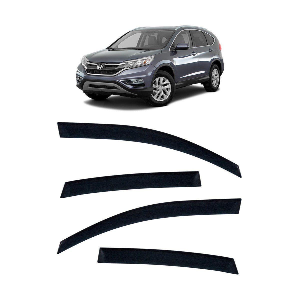 Calha De Chuva Honda CR-V 2012 Em Diante TG Poli