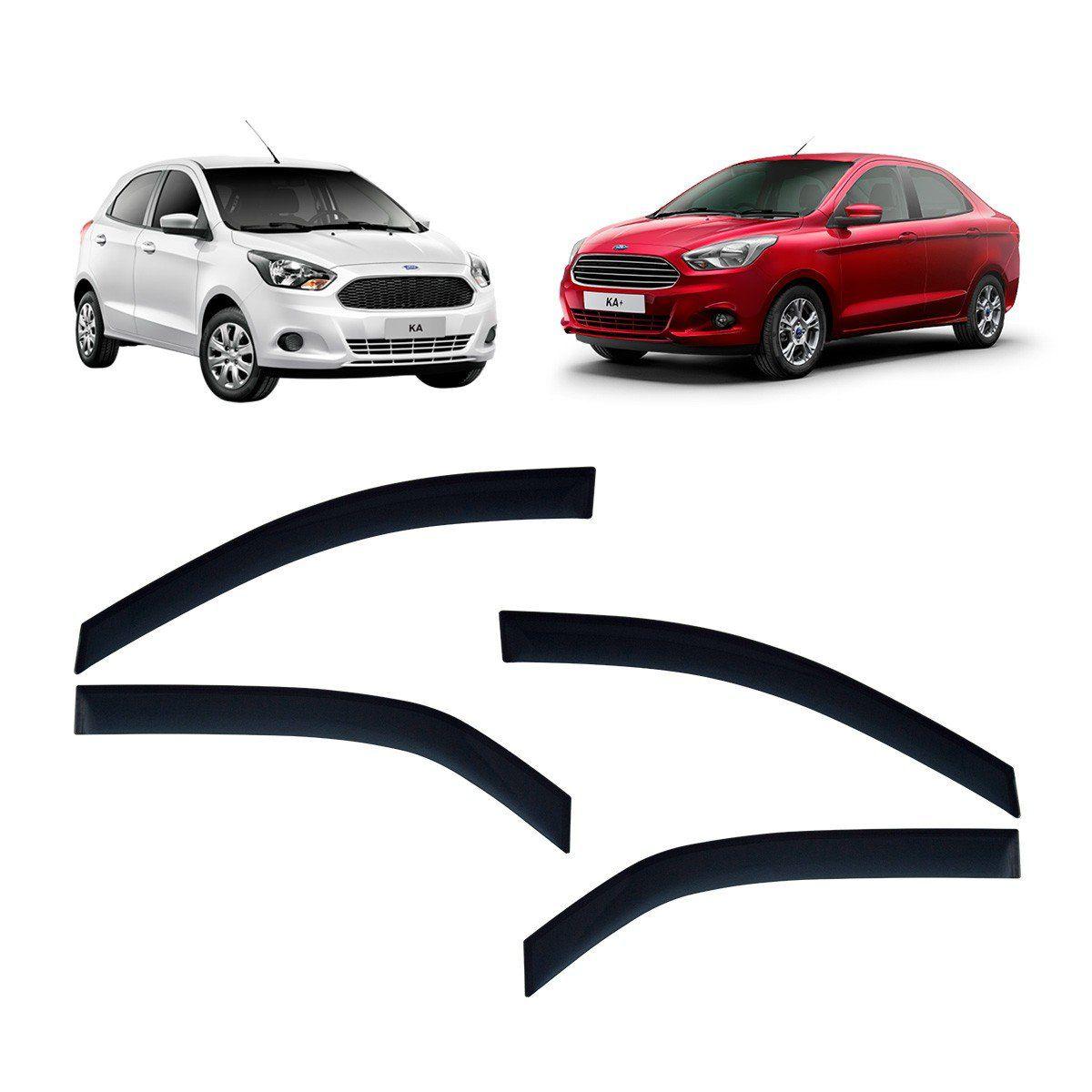 Calha De Chuva Ka Hatch E Ka+ Sedan 2014 Em Diante TG Poli