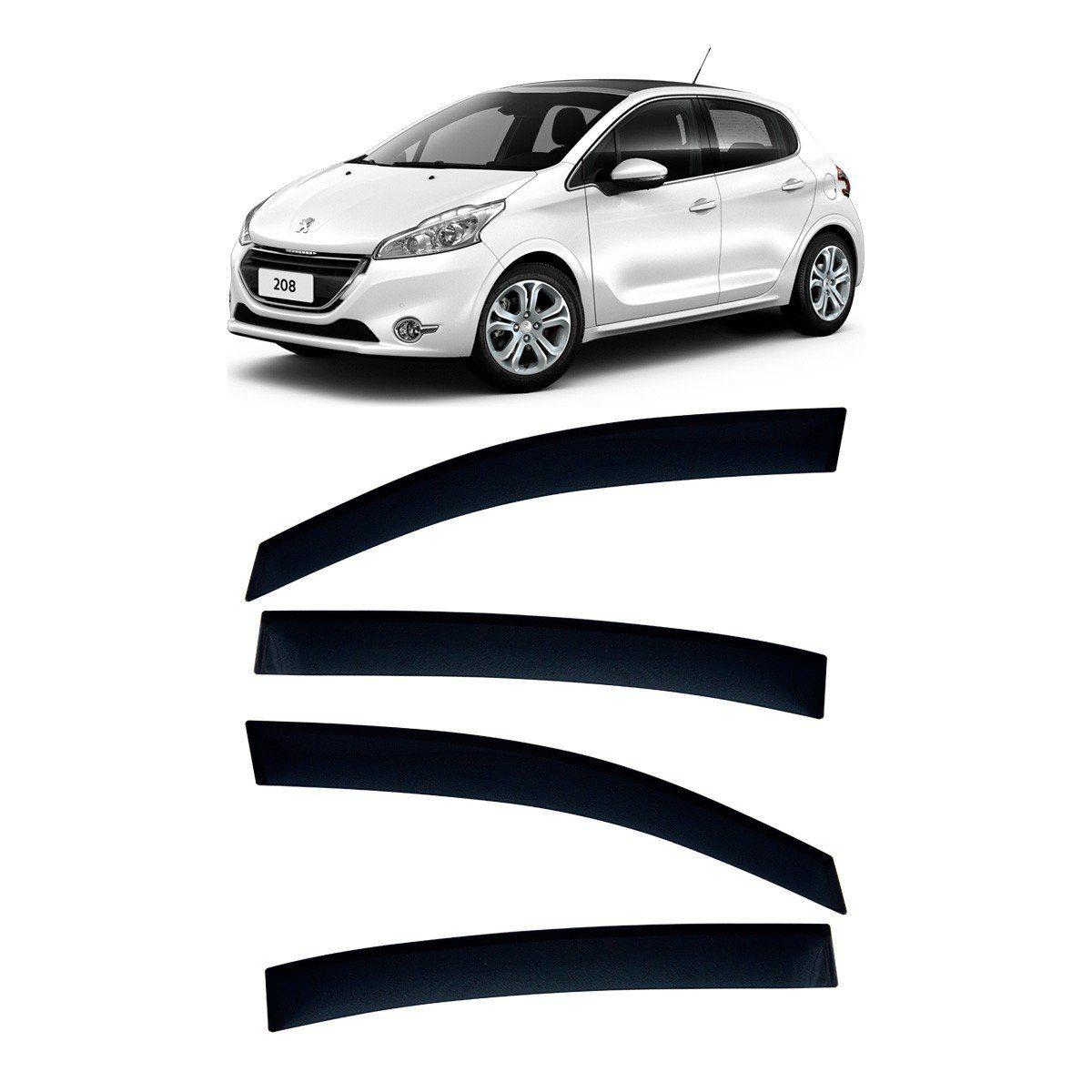 Calha De Chuva Peugeot 208 Defletor TG Poli
