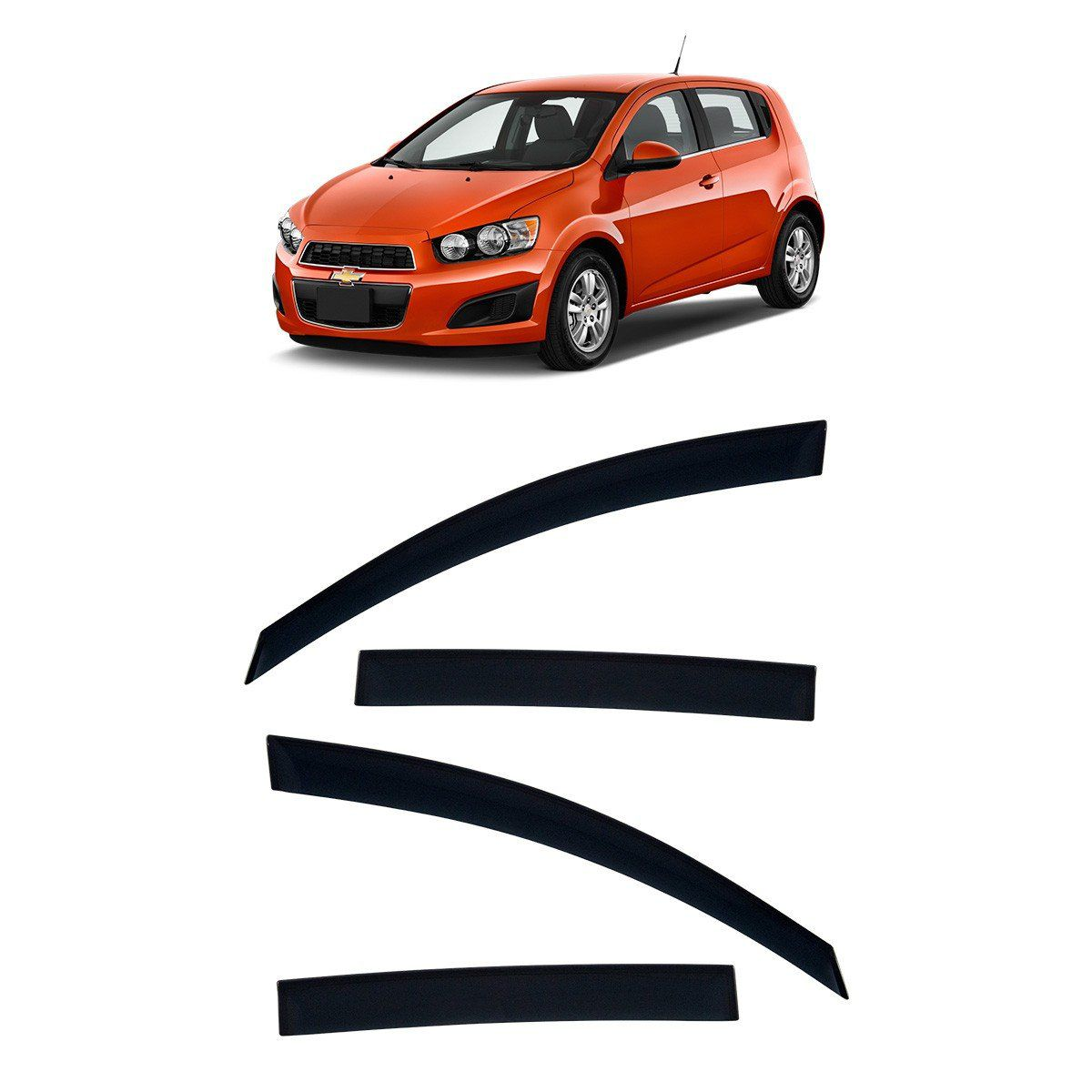 Calha De Chuva Para Sonic Hatch 2011 A 2015 TG Poli