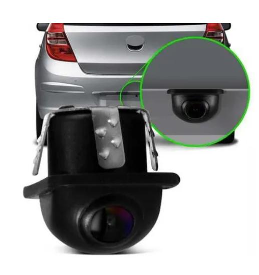 Câmera de Ré Automotiva Modelo Tartaruga Colorida