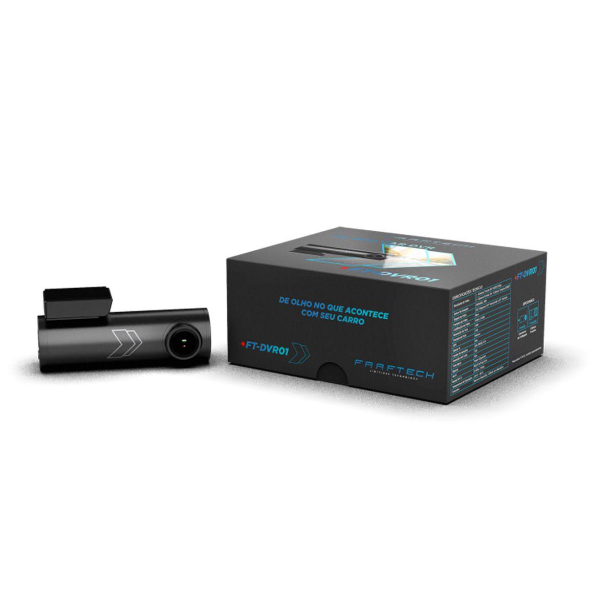 Camera DVR Automotiva Faaftech FT-DVR01 Resolução 2K 1440P