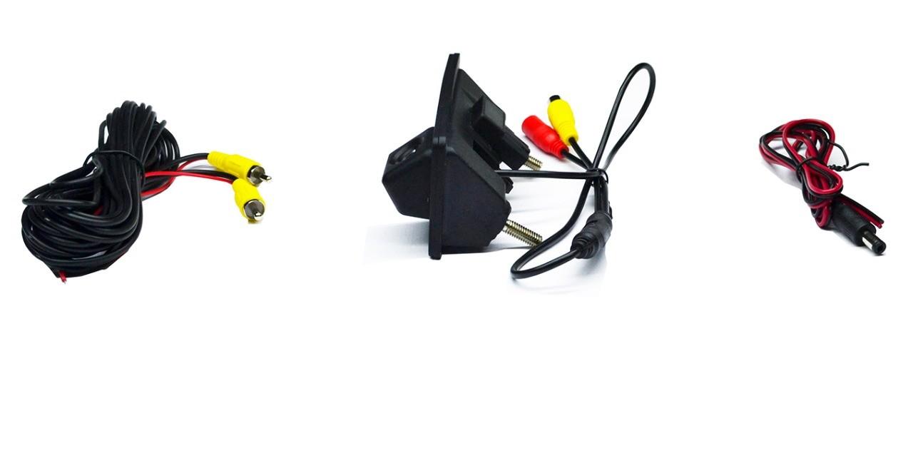 Câmera Ré T-Cross e Virtus com Maçaneta Integrada Modelo Original