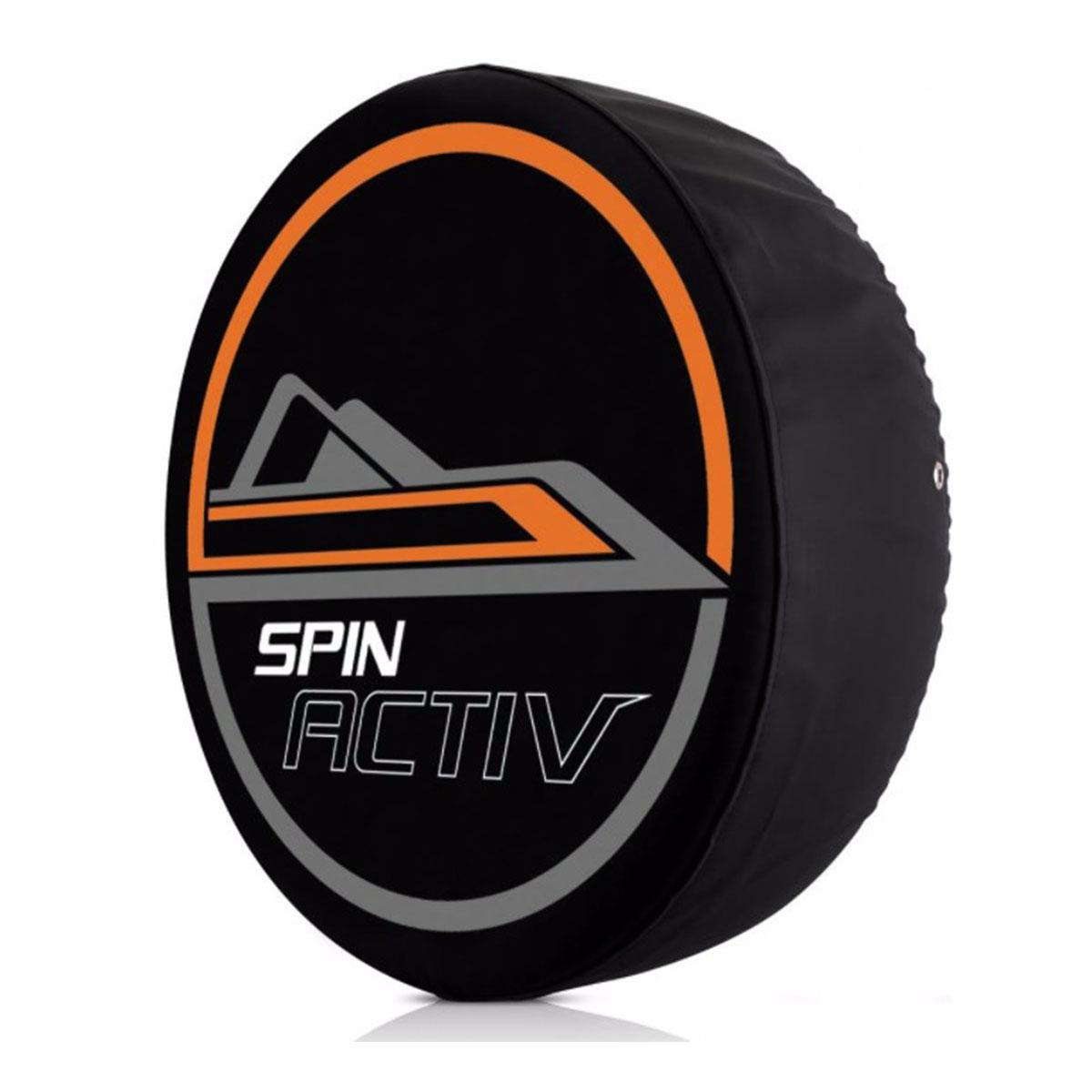 Capa de Estepe Spin Active 2014 á 2018 com Cadeado Comix