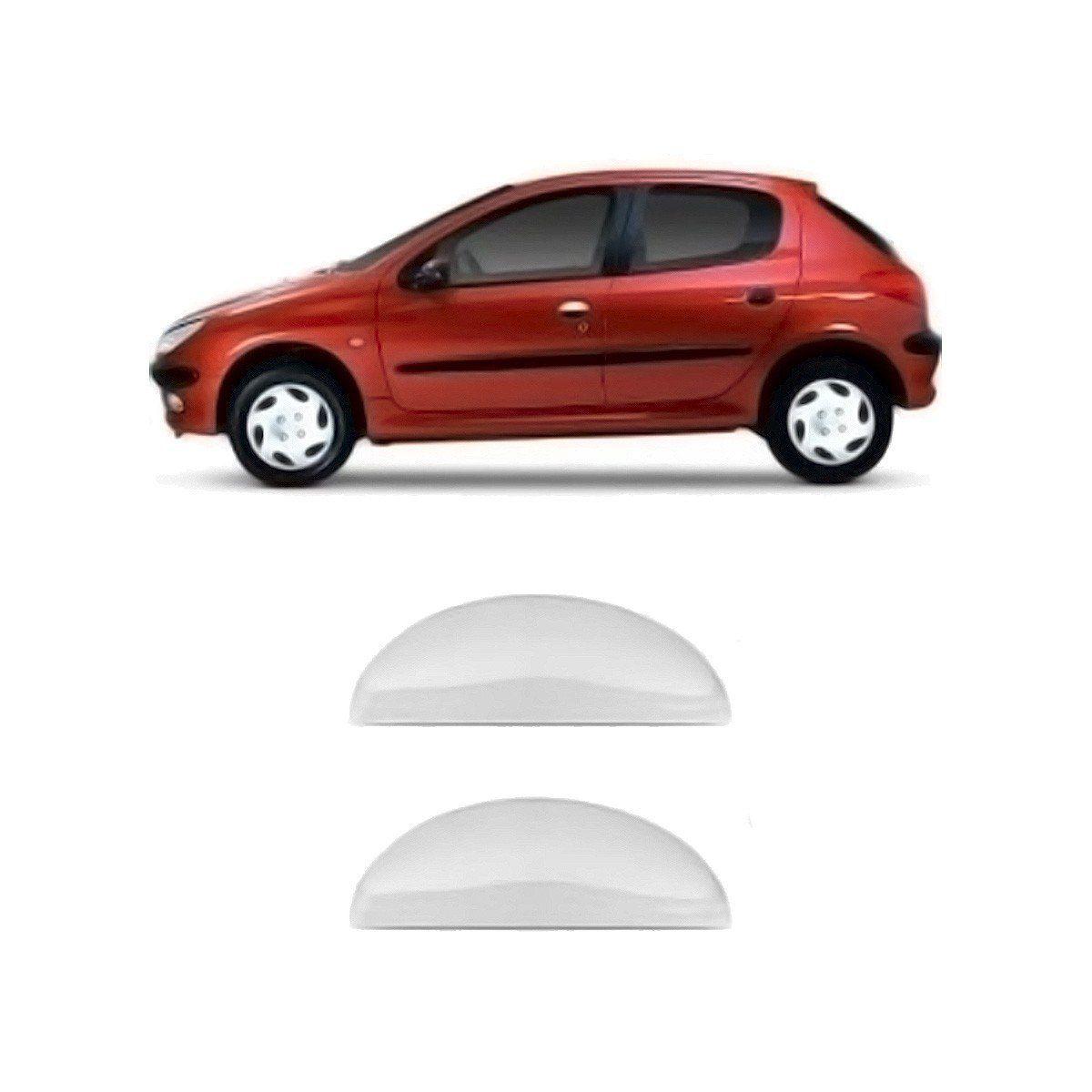 Capa de Maçaneta Peugeot 206 207 Cromada