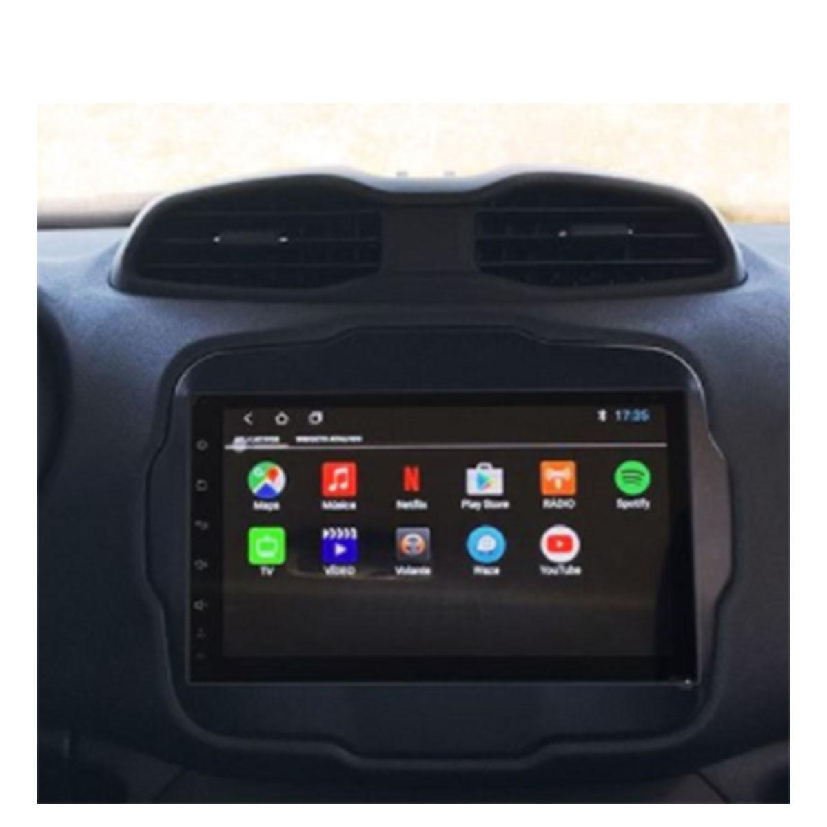 Central Multimídia Renegade Android Tela 9 Easyconnect  Kronos