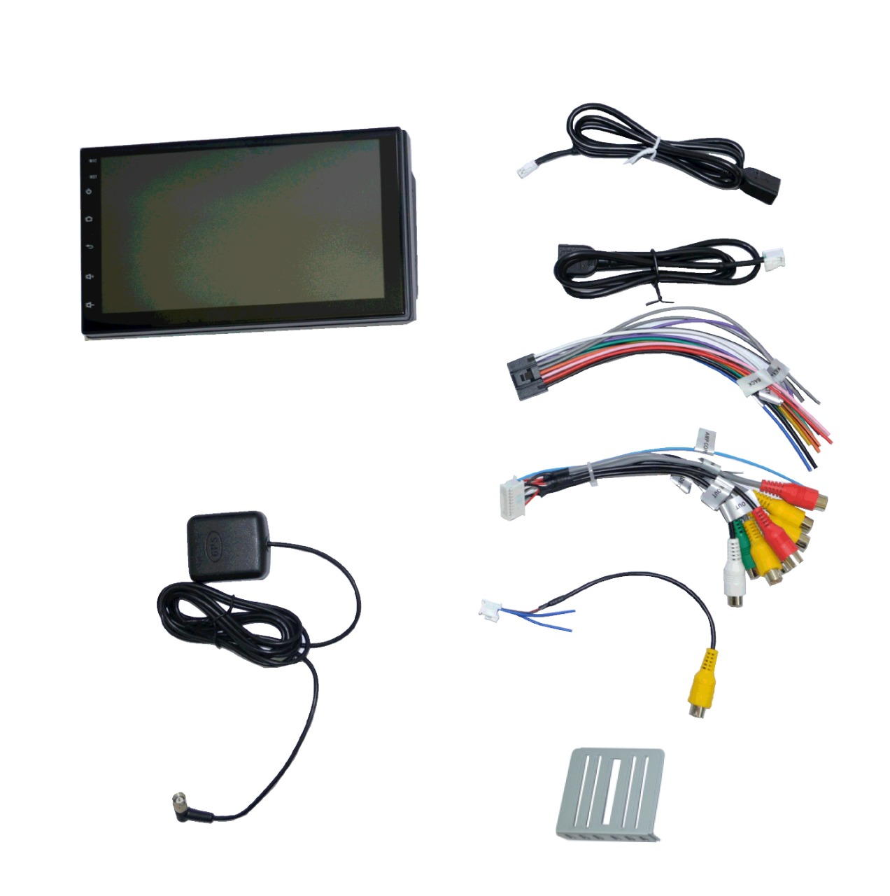 """Central Multimidia Universal Android 7"""" com 2 USB Bluetooth Touch Screen GPS"""