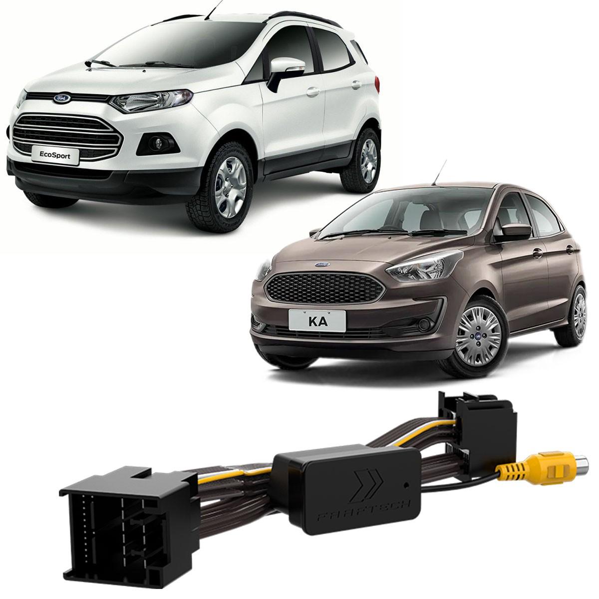 Chicote para Desbloqueio de Câmera Ford Ka Ecosport Faaftech FT-RC-FRD
