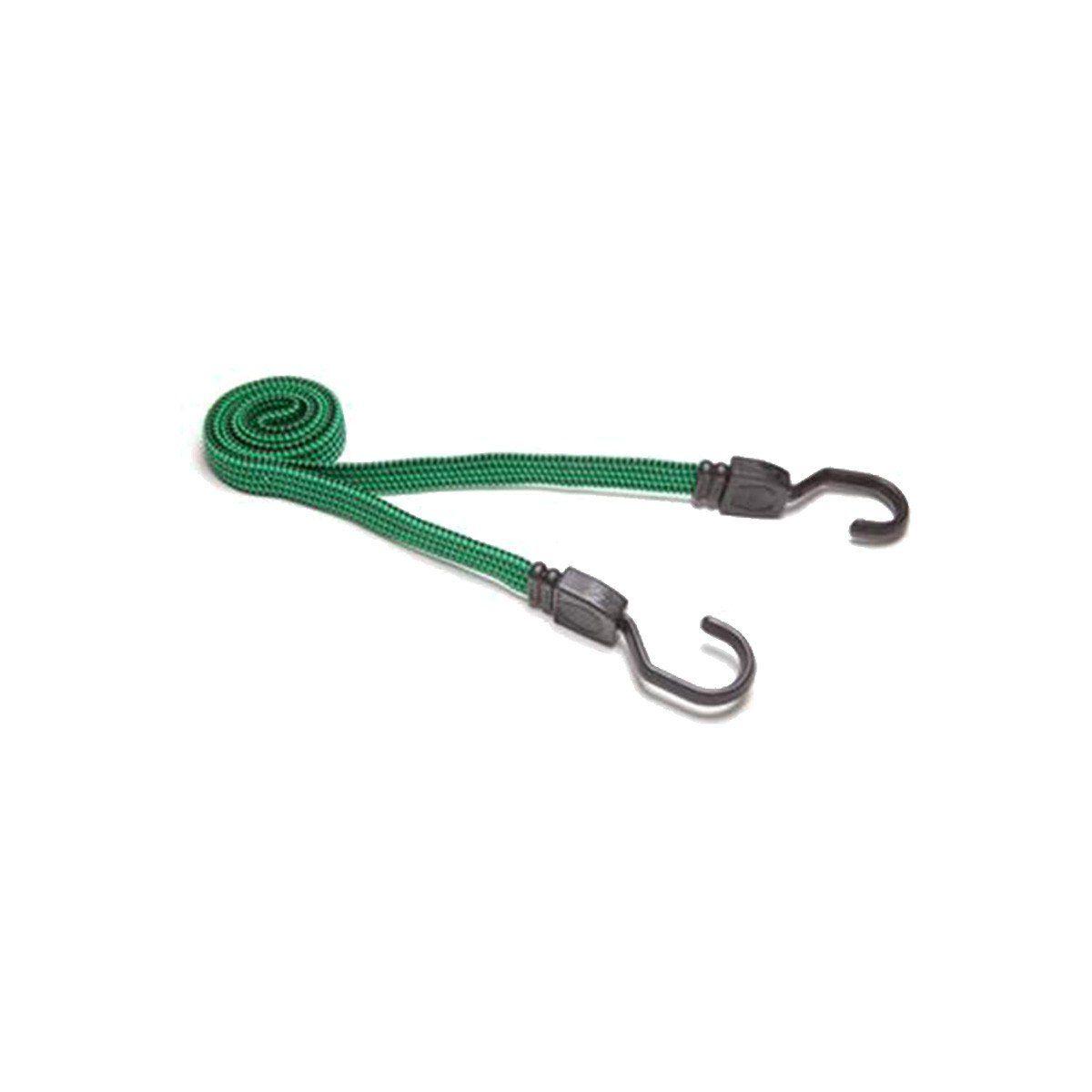 Corda Elástica Extensor Carga Com Gancho 1,20 Metros Verde